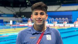 altText(El neuquino Iñaki Basiloff fue 4° en natación y aseguró un diploma paralímpico)}