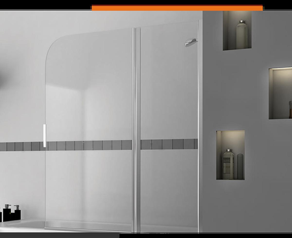 Tendencias en decoración de baños: la mampara