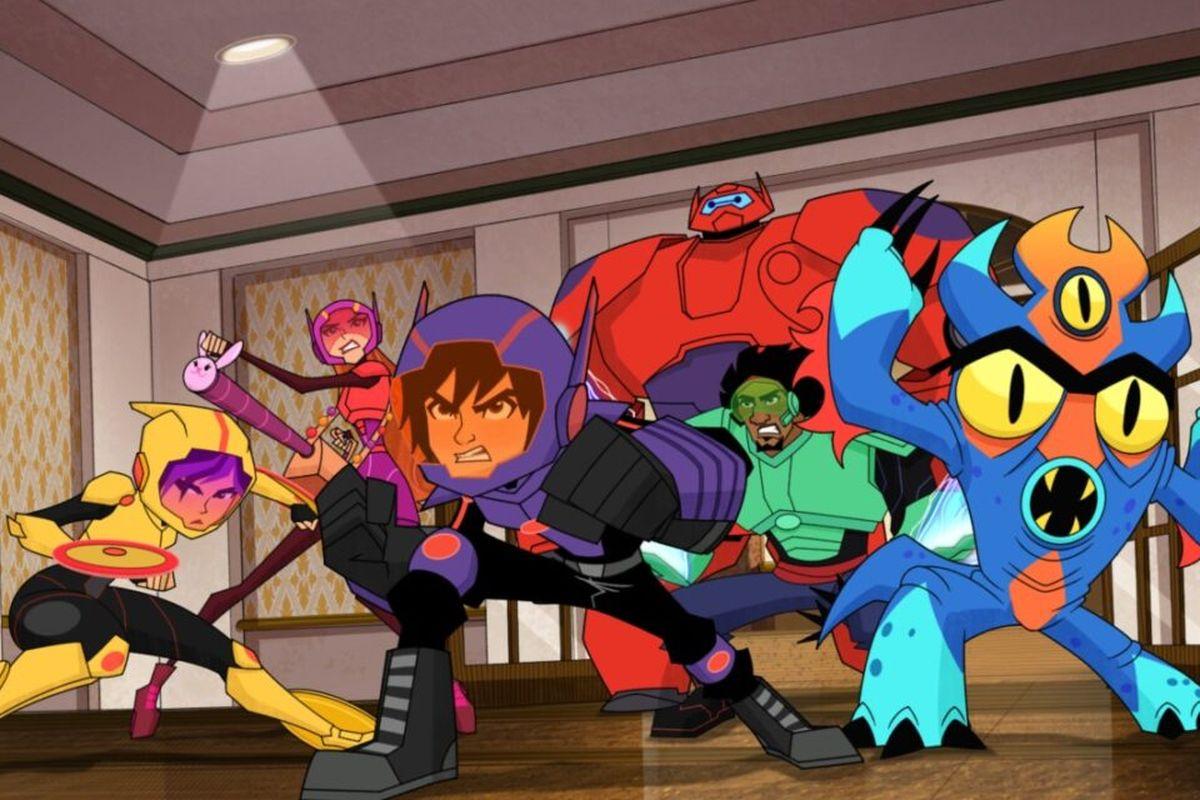 Este lunes Disney XD estrena la nueva temporada de Grandes Héroes, la serie