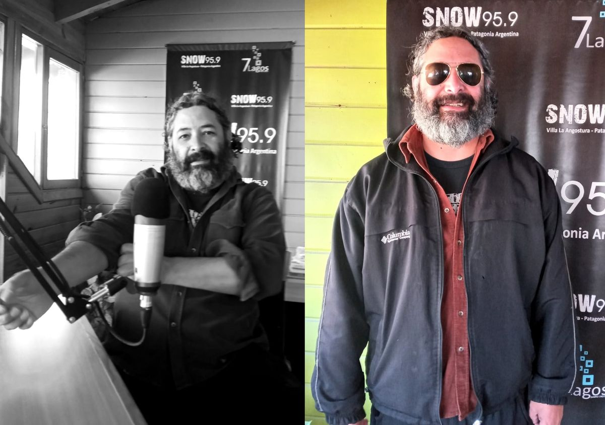 Angostura: Toby Villa presentó su próximo show en snow radio
