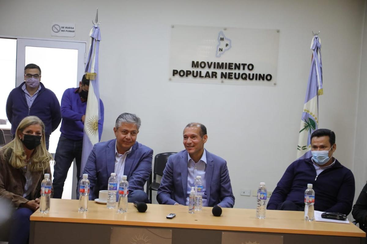 Gutiérrez y Figueroa presentaron la lista única del MPN