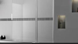 altText(Tendencias en decoración de baños: la mampara)}