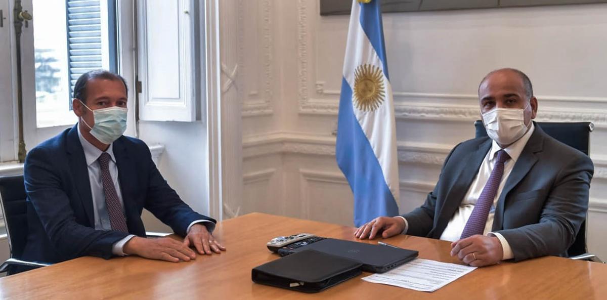Neuquén: Gutiérrez se reunió con ministros nacionales