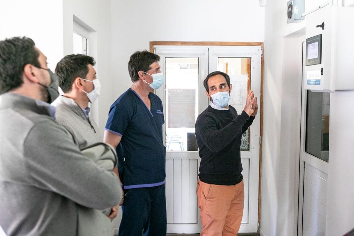 San Martín: Koopmann recorrió el nuevo centro oncológico