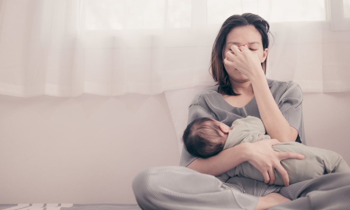 Mujeres: La depresión posparto